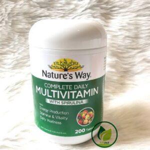 multivitamin spirulina